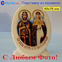 Керамическая икона на подставке 09