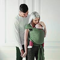 "Слинг шарф ""Олива"" для новорожденного для переноски детей  Переноска для детей слинг не Кенгуру"