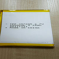 Литий-полимерный аккумулятор 3,7V 2500mAh