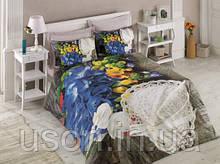 Комплект постільної білизни Cotton box Ранфорс Floral Seri FRILLY
