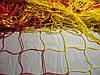 Сетка для футбольных ворот футбольная D.3,5 2,1м. глубина Стандарт 2.1, фото 2