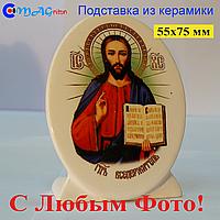 Керамическая икона на подставке 13