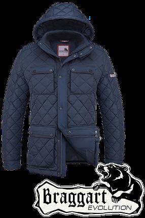 Мужская фирменная зимняя куртка Braggart (р. 48-56) арт. 1575, фото 2