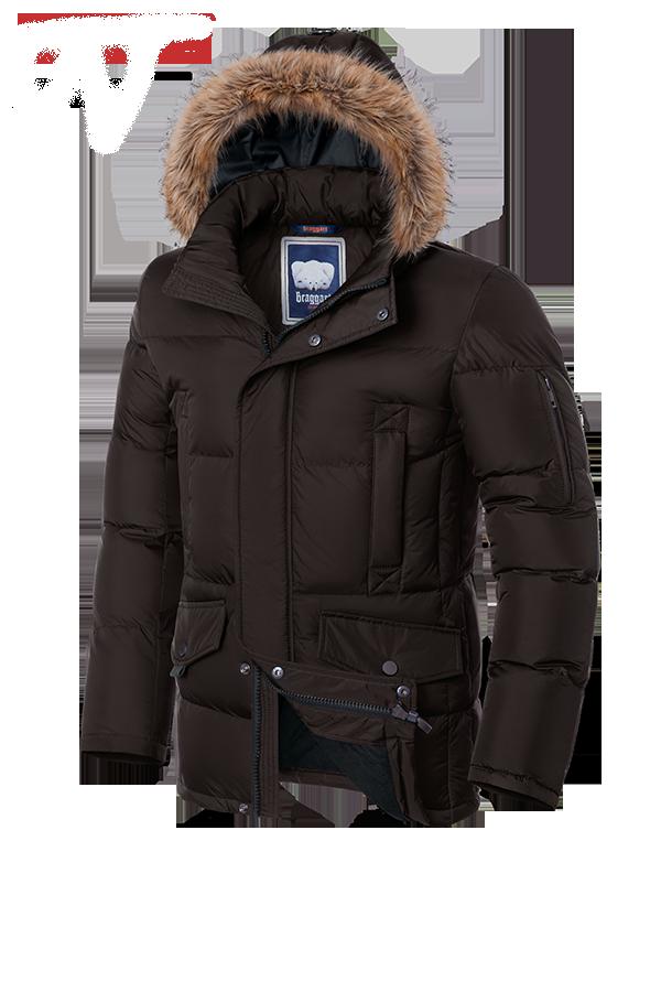 Мужская теплая зимняя куртка Braggart (р. 46-56) арт. 1360