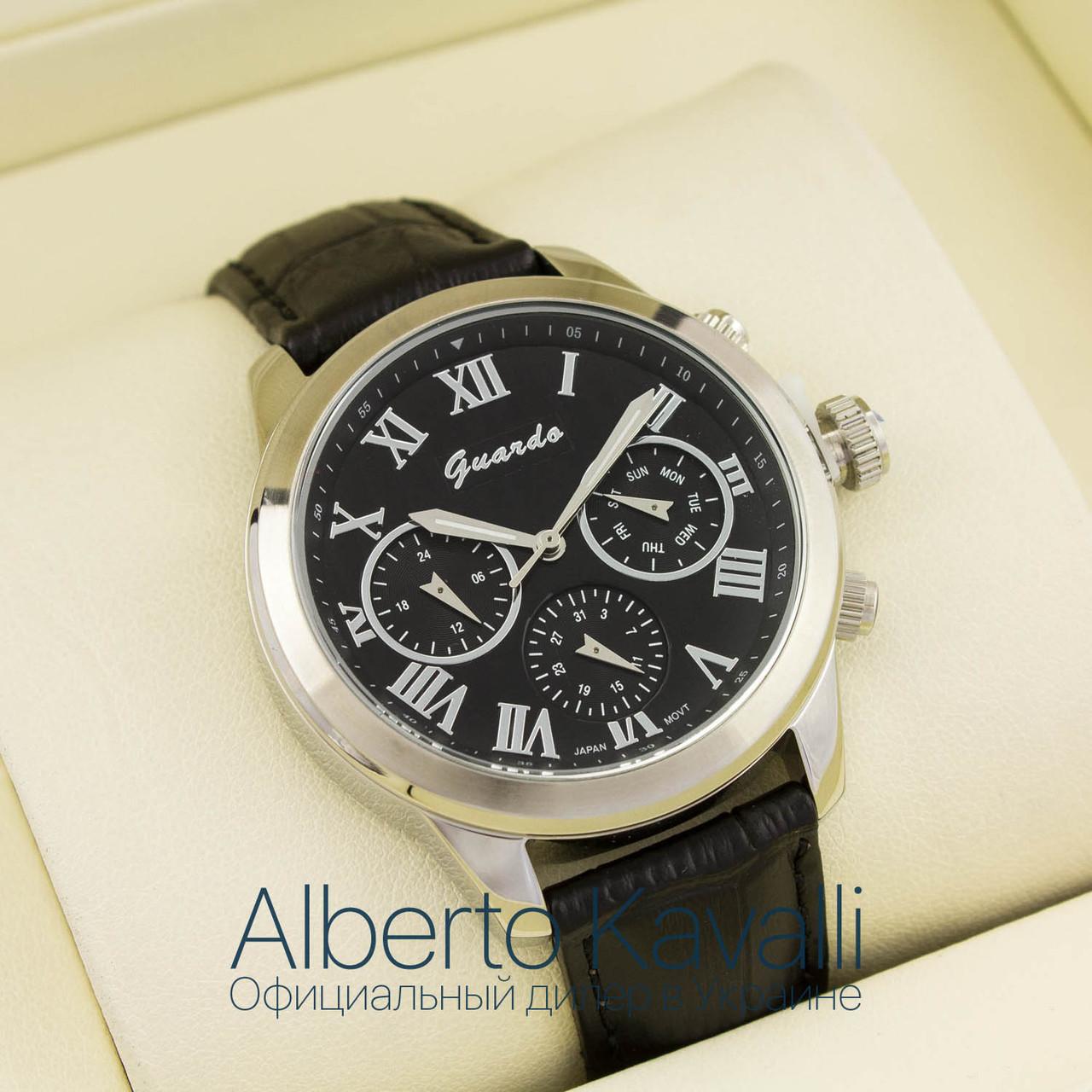 Мужские Оригинальные Часы Guardo Silver Black 1016g-s08045 — в ... eb5a1823339