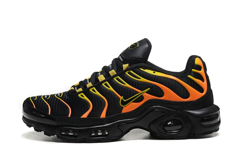 "Кроссовки Nike Air Max TN Plus ""Black/Orange"""