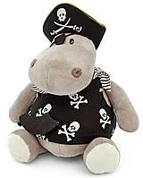 Мягкая игрушка Бегемот Пират 50 см ORANGE (OX013/30)