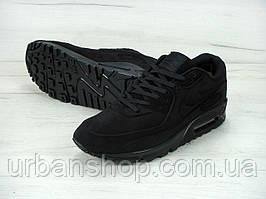 """Зимові чоловічі кросівки Nike Air Max 90' VT Tweed """"Black"""", найк, айр макс"""