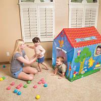 Красочная палатка игровая детская домик 102-76-114см Bestway 52201. Отличное качество. Купить. Код: КДН3138