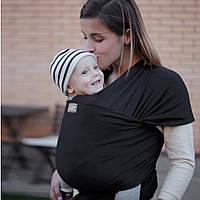 """Слинг шарф """"Оникс"""" для новорожденного для переноски детей  Переноска для детей слинг не Кенгуру"""