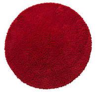 Коврик для ванны 70 см красный