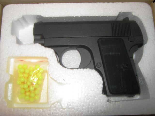 Детский пистолет ZM 03 пластик+металл