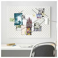IKEA SKADIS Перфорированная доска, белый  (492.173.81)