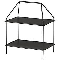 IKEA YPPERLIG Подставка для журналов, темно-серый  (103.461.24)