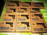 Пистолет игрушечный ZM 04 металл + пластик, фото 2
