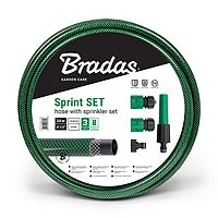 """Шланг для полива Bradas Sprint 1/2"""" - 20 м с набором для подключения"""