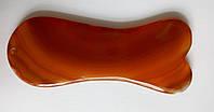 Гуаша пластина (скребок) из агата