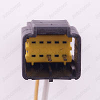 Разъем электрический 10-и контактный (25-22) б/у 297733