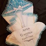 Набор для крещения Ангел подарочный для мальчика, фото 3