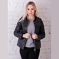 Женская демисезонная куртка Irvik ZK20-132 черная