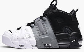 Кросівки чоловічі Nike Nike Air More Uptempo grey/white/black.