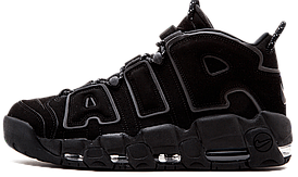 "Кросівки чоловічіNike Air More Uptempo ""Triple Black"""