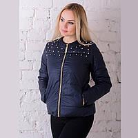 Женская демисезонная куртка Irvik ZK20-131 синяя
