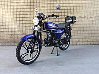 Мотоцикл SP110С-2 Альфа(4т., 110см3, задний багажник, подножка)