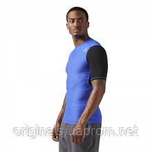 Компрессионная футболка с коротким рукавом Reebok для мужчин ACTIVCHILL Vent CF3713