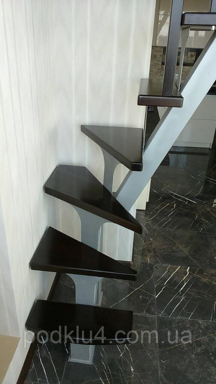 Лестница на прямом косоуре