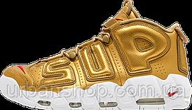 Кроссовки женские Nike Air More Uptempo Gold