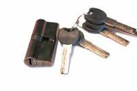 Сердцевина для замка zc 70мм (35х35) с лазерными ключами к/ключ