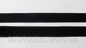Липучка  текстильная 2,5 см  черная