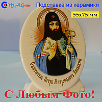 Керамическая икона на подставке 27