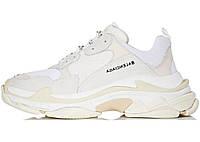 Кросівки жіночі Balenciaga Triple S White баленсиага білі