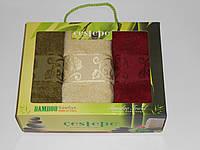 Набор полотенец бамбуковых, 3 шт., фото 1