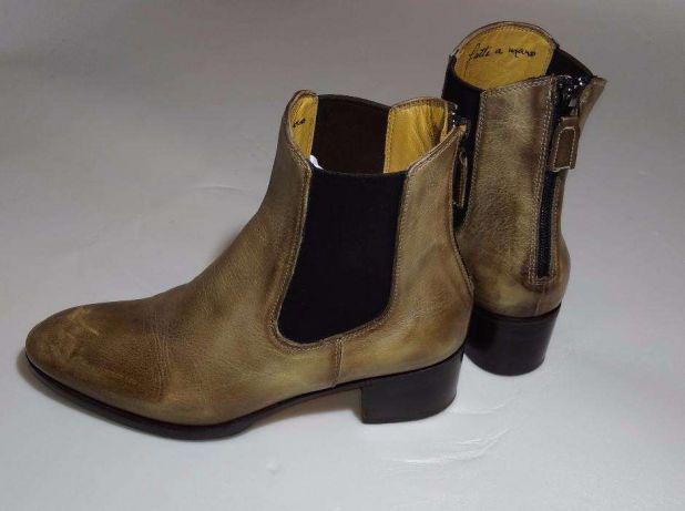 Ботильоны 38 размера Сhelsea boot бренд BENSONS
