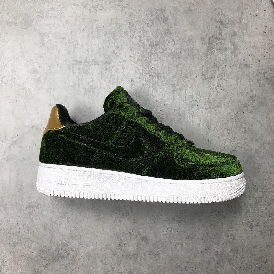 """Кроссовки Nike Air Force 1 """"Plush Velvet Green"""""""