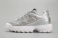 Женские кроссовки Fila Disruptor II Silver, фото 1
