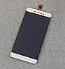 Оригинальный дисплей (модуль) + тачскрин (сенсор) для Bravis A505 Joy Plus (белый цвет)