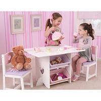 Столик с ящиками и двумя стульями Kidkraft 26913