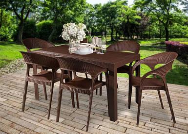 Садовая мебель Ротанг + corfu