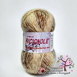 Пряжа Ricignole Fancy Yarn HM18, № 0108, бежевый меланж