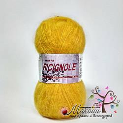 Пряжа Ricignole Fancy Yarn HM18, № 11, желтый