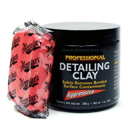 Детейлинг глина агрессивная - Meguiar's Detailing Clay Aggressive 200 г. (C2100), фото 2