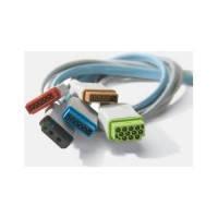 Кабель для подключения датчика инвазивного артериального давления для модулей IBP2, НЕАСО