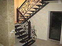 Лестницы с коваными перилами, фото 1