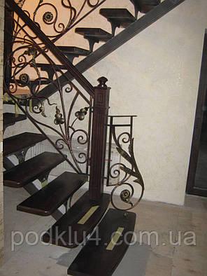 Лестницы с коваными перилами, фото 2