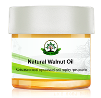Крем  Natural walnut oil