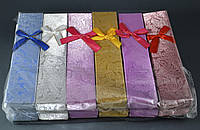 Подарочная упаковка Цветочный узор 21х4х2,5 см